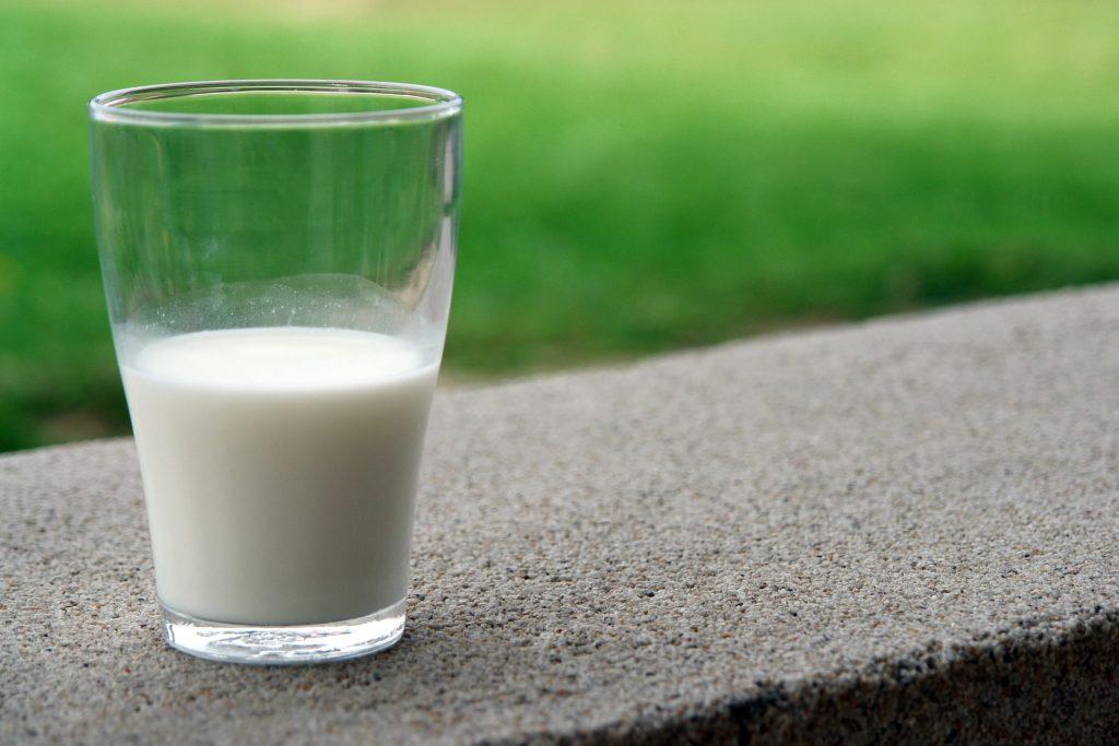 A glass of milk. Source: Pixabay via Pexels